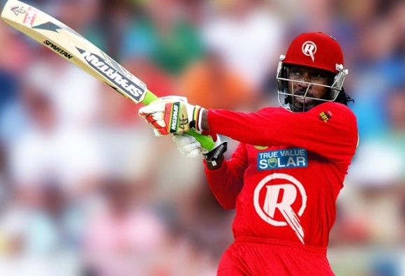 Chris Gayle Becomes First Batsman to Smash 600 Sixes in T-20