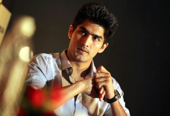 Vijender Singh on his third win