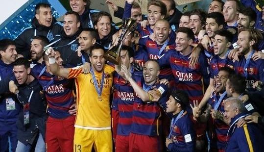 barcelona won fifa club world club