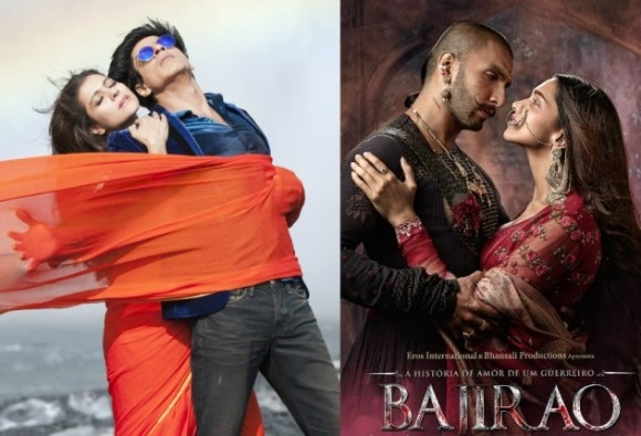 BOX OFFICE, 2nd day: COLLECTION OF DILWALE AND BAJIRAO MASTANI