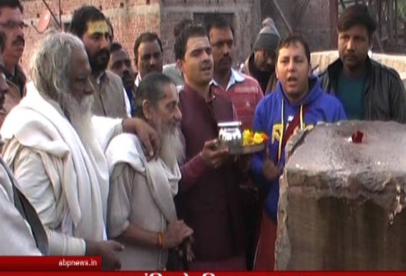 VHP's first lot of stones for Ram temple arrive