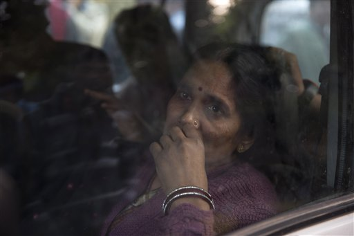 Nirbhaya's parents among those detained near India Gate