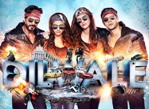 bajirao mastani vs dilwale overseas Box office collections