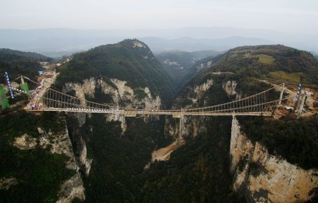 Contest begins to name world' s longest glass bridge
