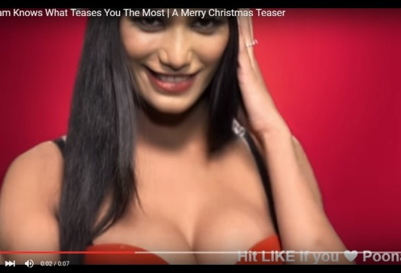 TEASER VIDEO OUT: POONAM PANDEY RELEASES 'JINGLE B**BS' TEASER BEFORE CHRISTMAS