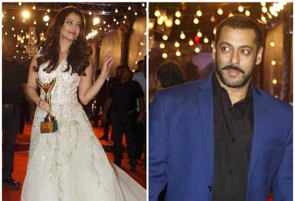 Ex-lovers Aishwarya & Salman were seen at Stardust Awards together