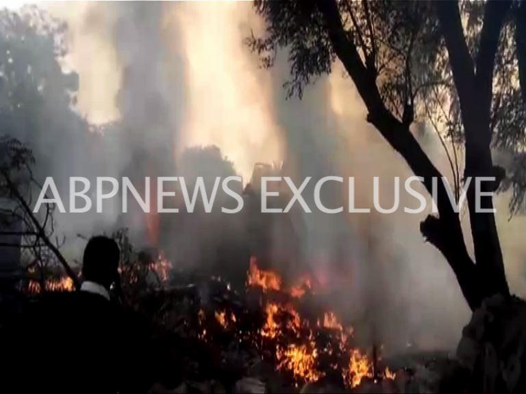 BSF Charter plane crashed in delhi