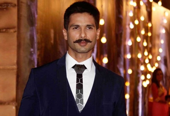 Shahid playing soldier in 'Rangoon'