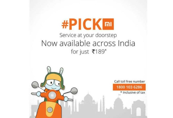 Xiaomi's Pick Mi service now lets you book a pickup with a missed call