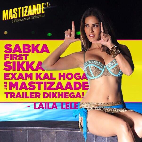 Censors didn't cut a single scene in 'Mastizaade'