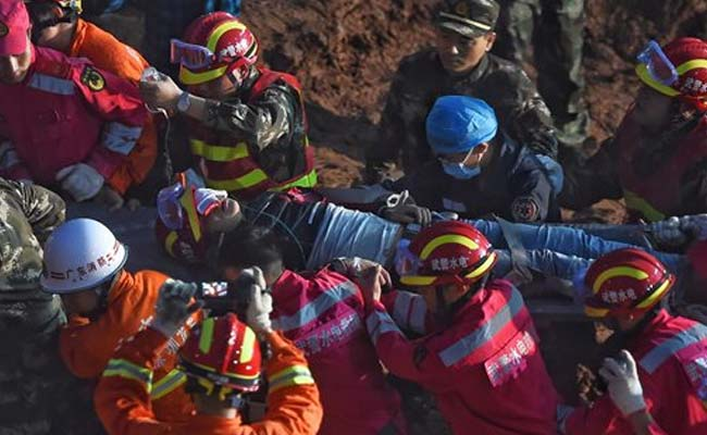 Man rescued alive in Shenzhen after 60 hours