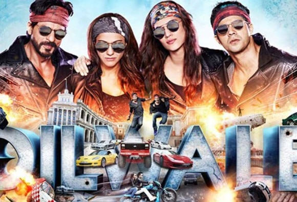 BOX OFFICE: SRK's Dilwale 5th day india collection