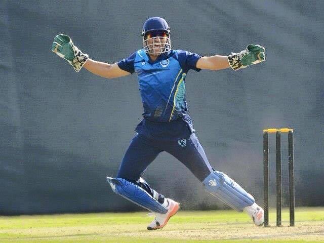 Mahendra Singh Dhoni sets new record