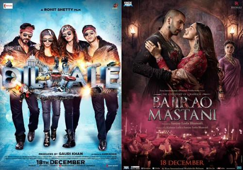 sixth day box office collection of dilwale and bajirao mastani