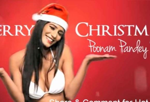 WATCH: Poonam Pandey named her Christmas video 'Jingle B**bs'