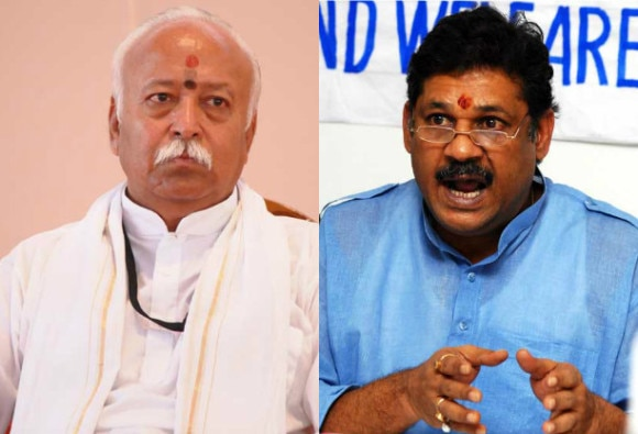 rss is not happy with kirti azad suspension