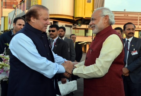 PM Modi touced by Nawaz sharif gesture