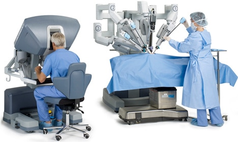 head and neck robotic surgery