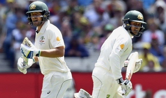 Burns, Khawaja flay Windies bowlers on day one of the Boxing Day