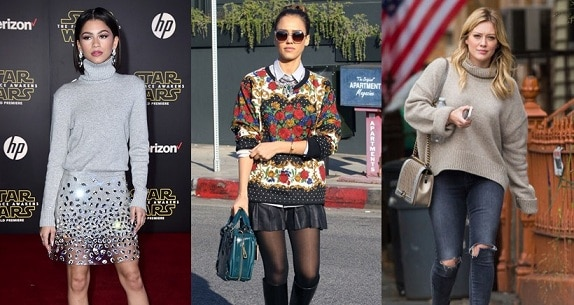 how you can rock your regular sweater this season