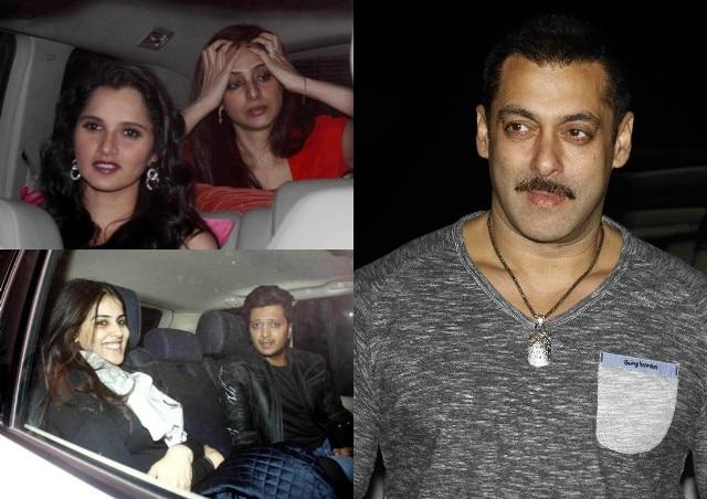 Salman Khan poses with girlfriend Iulia Vantur