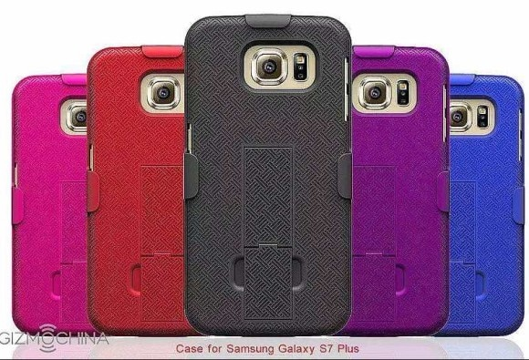 Samsung Galaxy S7, Galaxy S7 Plus Leaked Cover Cases Design
