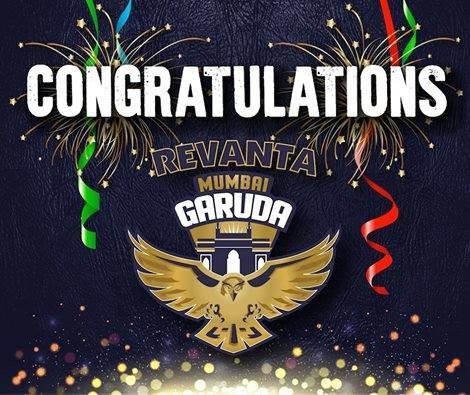 Mumbai Garuda became Pro Wrestling League champions
