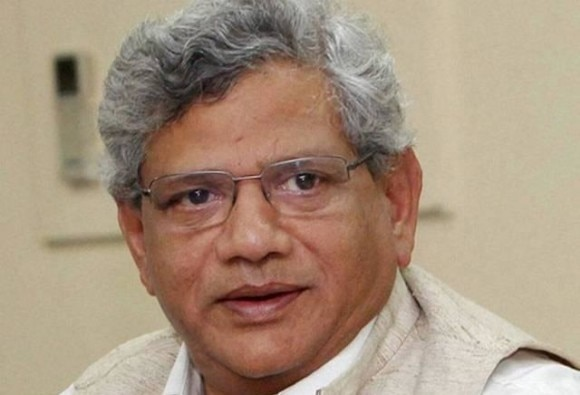 yechury rises questions on modi sharif meeting