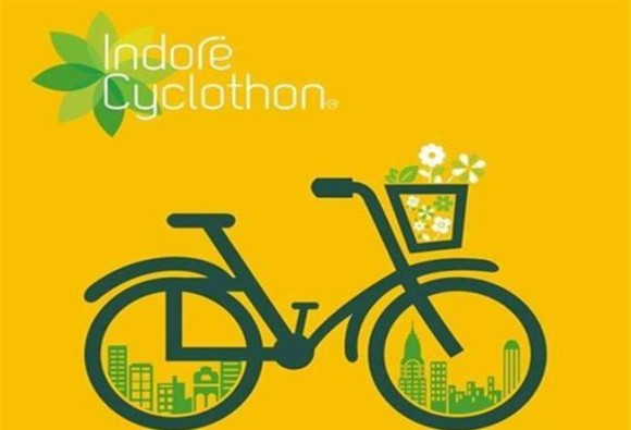 Indore: 15,000 Indoreans set world record of cycling under the first edition of 'Indore Cyclothon'