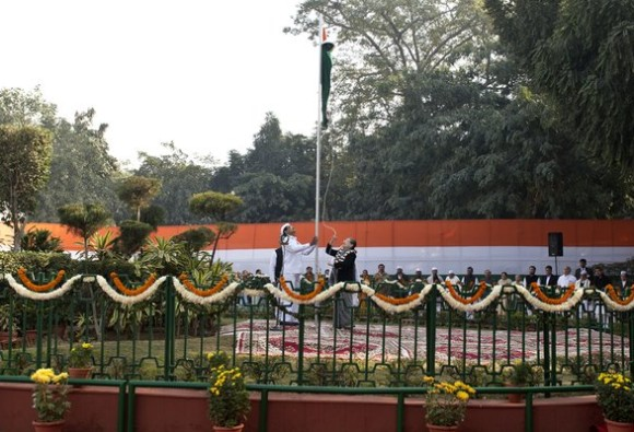 Congress party marks its 131st foundation day