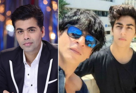 Karan Johar Is All Set To Launch SRK's son Aryan