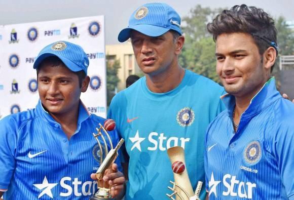 Hopefully U-19 team will bring laurels to India: Rahul Dravid