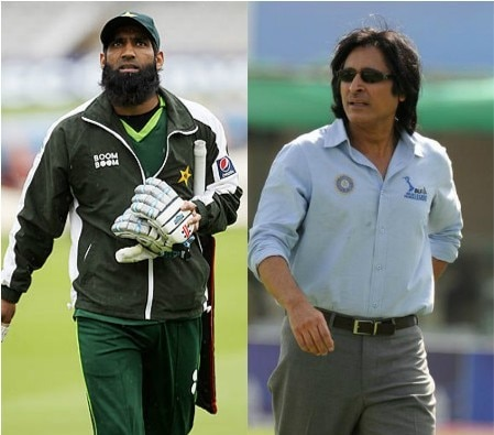 Rameez Raja, Mohammad Yousuf make it personal on a TV debate