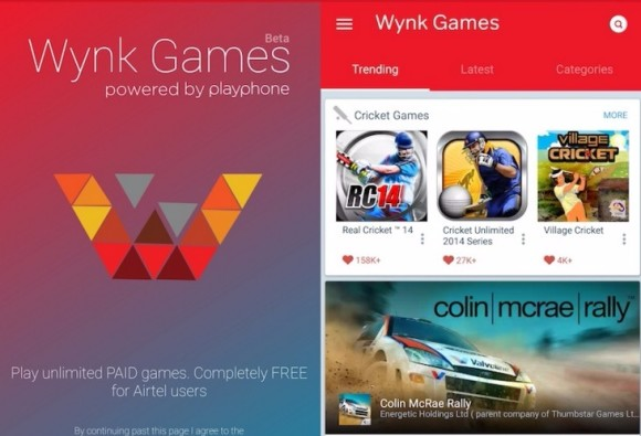 Bharti Airtel launches Wynk Games
