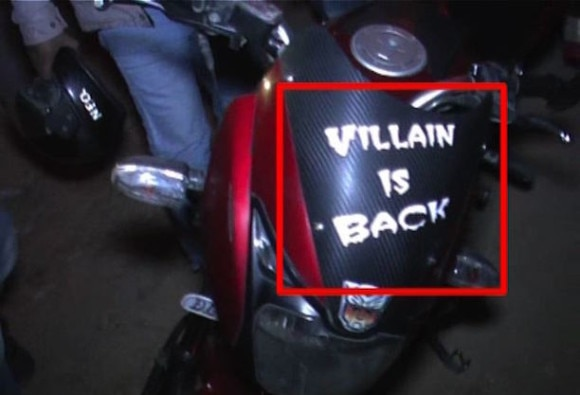'Villain is back' in delhi