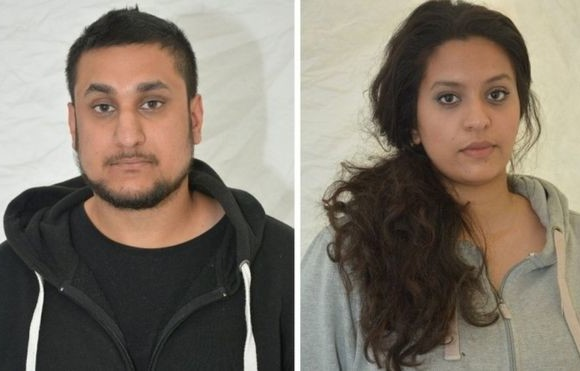 'Silent bomber' couple found guilty of London terror attack plan