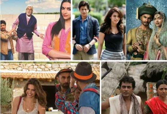 2015 ends on good note for Bollywood with 'Dilwale', 'Bajirao'