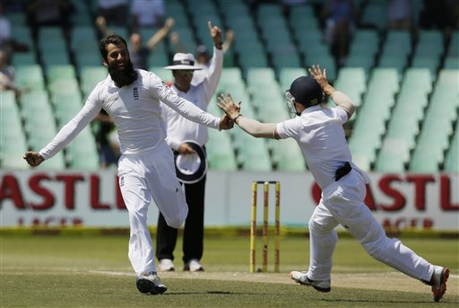 England and Moeen Ali race through South Africa tail to clinch first Test
