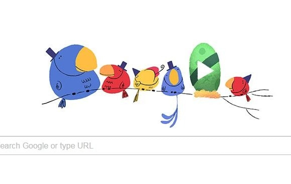 New Google Doodle Marks New Year's Eve