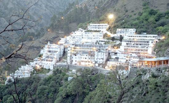 50,000 people arrived for the start of the new year Vaishnodevi