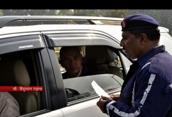 BJP MP Satyapal Singh stopped for travelling in even-numbered car