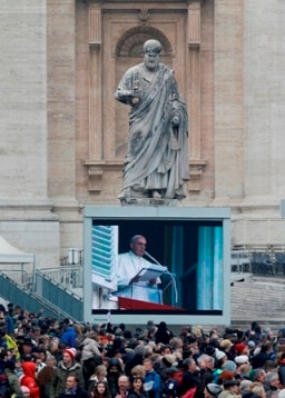 Pope Francis says he wanted to be a butcher