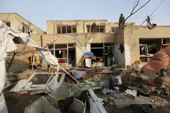 Bomb blast rocks Kabul on first day of new year