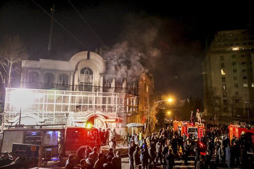 Tehran protest after Saudi Arabia executes Shiite cleric