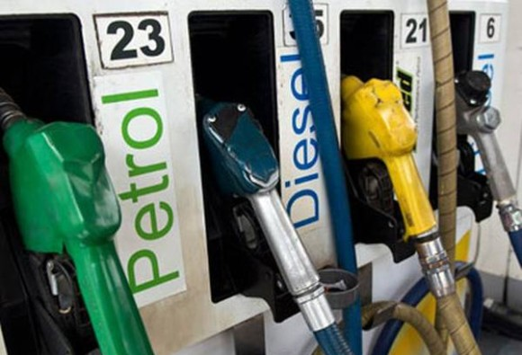 excise duty on Petrol diesel