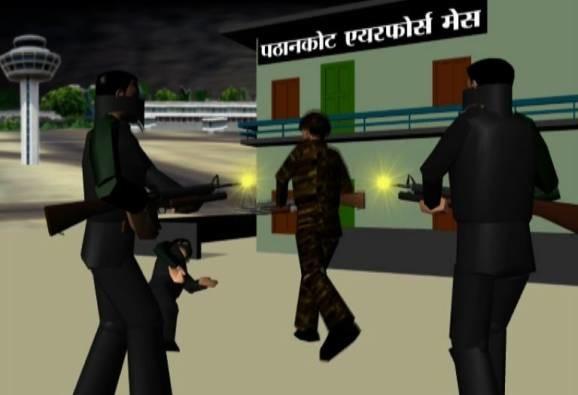 When an unarmed army men killed two terrorists