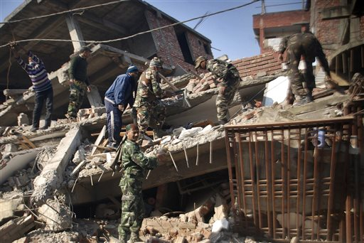 Earthquake Of 6.7 Magnitude Hits Northeast India; 5 Dead, Over 100 Injured