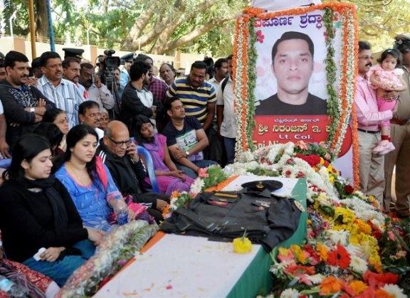 Pathankot attacks: Lt Colonel Niranjan's body brought to Bengaluru