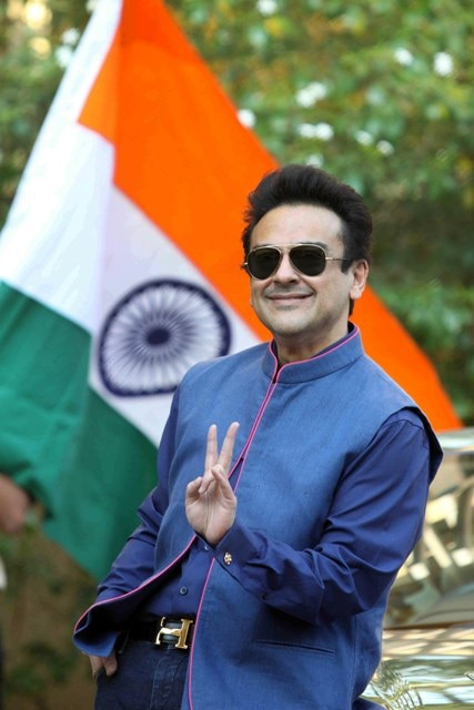 Adnan Sami Hoisted The Tricolour At His Home To Celebrate Indian Citizenship