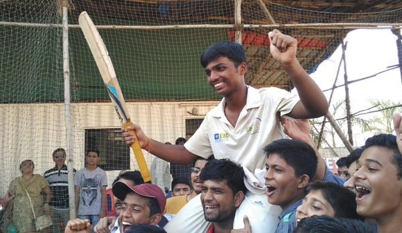 pranab dhanawade gets mca scholarship